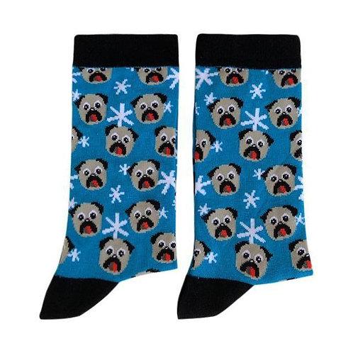 Socks - Dog, Blue
