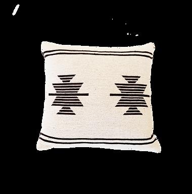 Cream Boho Print Pillow