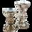 Thumbnail: Mercury Candle Holders (Set of 2)