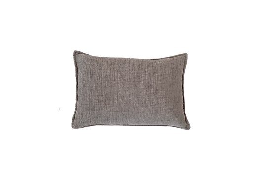 Grey Lumbar Pillow