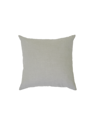 Light Grey Woven Pillow