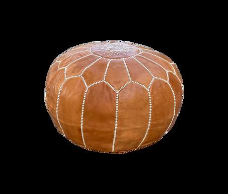 Caramel Moroccan Pouf