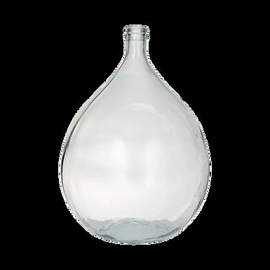Glass Demijohn Vase
