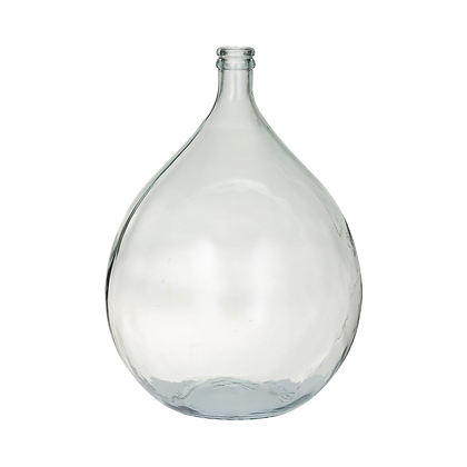 Glass Demijohn Vase