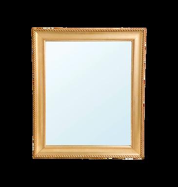 Gold Framed Antique Mirror