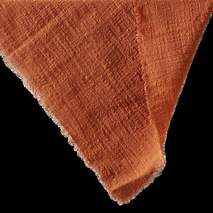 Cheesecloth Napkin -  Rust