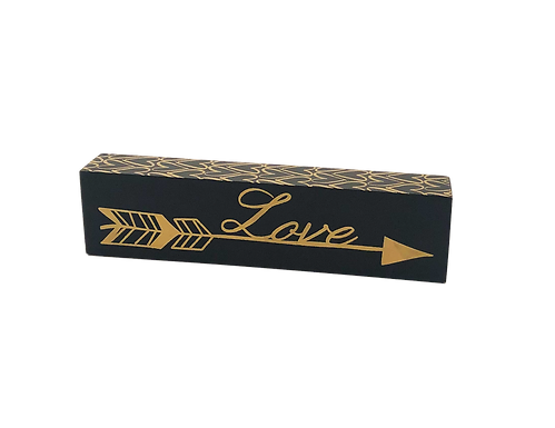 Love Wood Block Sign