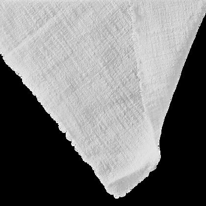 Cheesecloth Napkin - White