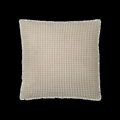 Beige Textured Pillow