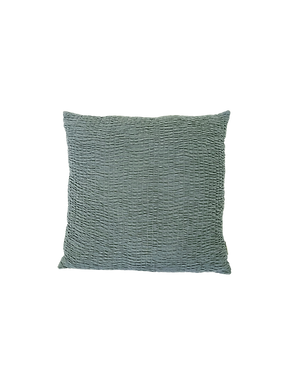 Teal Textured Pillow