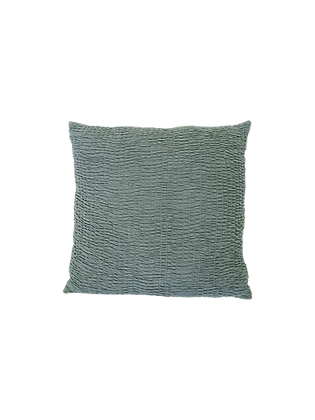 Teal Textured Pillow