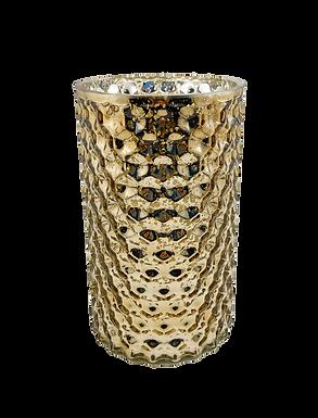 Gold Mercury Vase