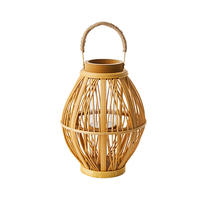 Rattan Lantern - Small