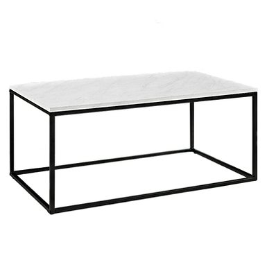 Marble Acrylic Coffee Table