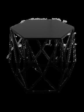 Wide Geometric Side Table