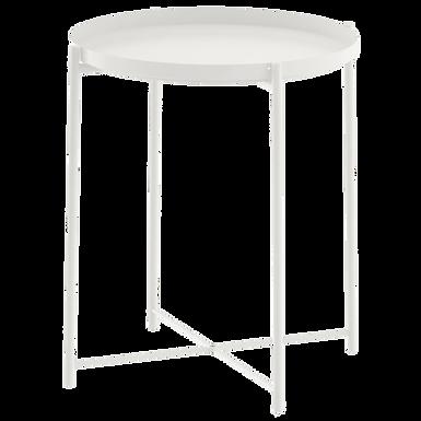 White Tray Table