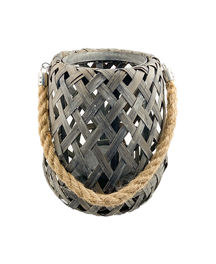 "Bamboo Lantern - 10"""