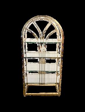 Art Deco Gold Shelf