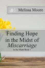 Finding Hope in the Midst of Miscarriage book