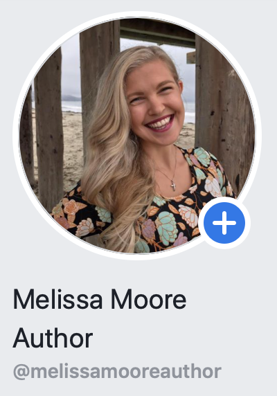 Melissa Moore Author Facebook Page