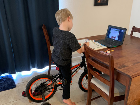 Perseverance Looks Like Zoom on a Bicycle - ADHD and School Success