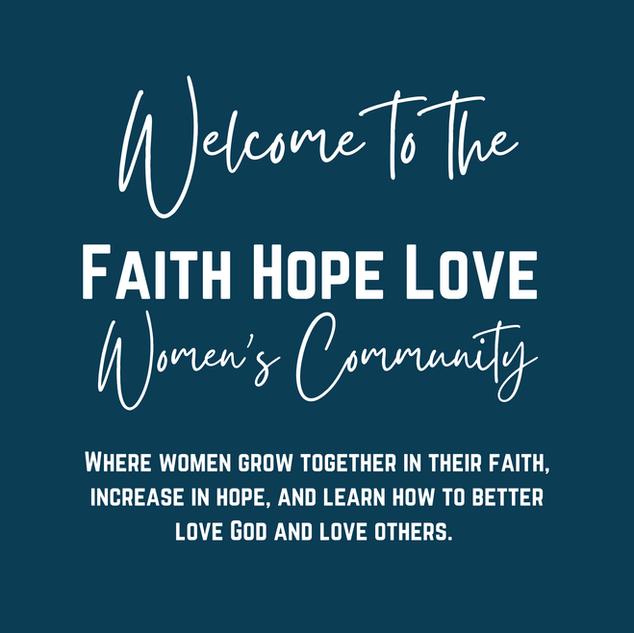 Faith Hope Love Women's Community