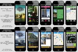 Application smartphone