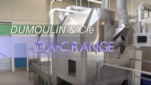 Система Dumoulin IDAC для дражерования шоколадом