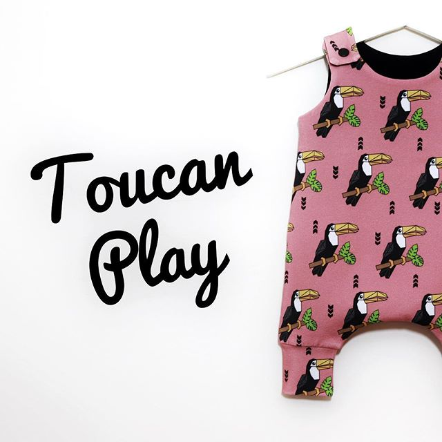 Toucan Play in my 2nd colour-way! ._