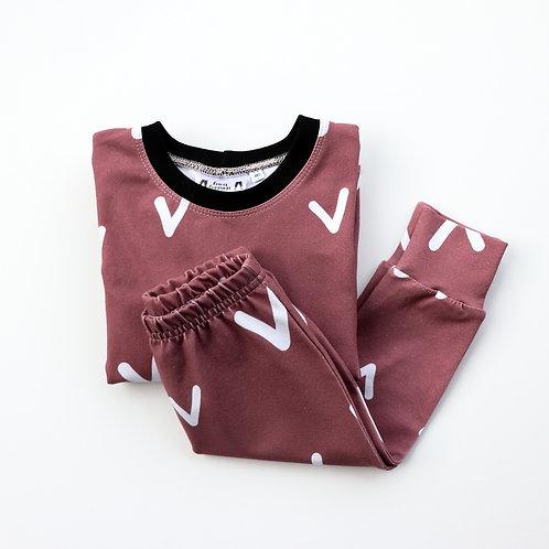 Dusty Pink V