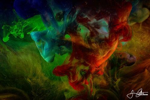 """Connecting Nebula"" Photographic Print - 8x12"