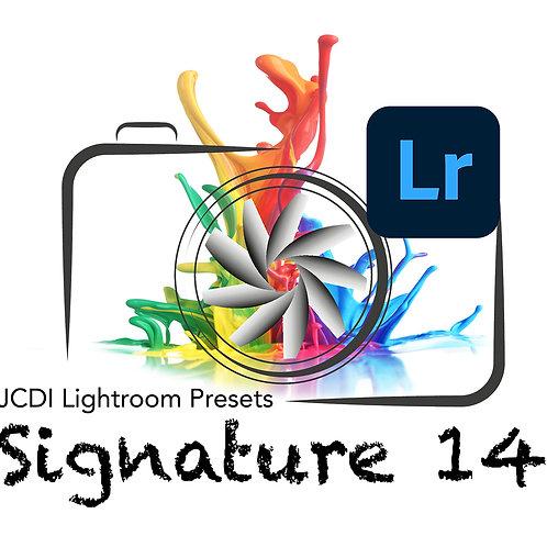 JCDI Signature 14 Lightroom Presets