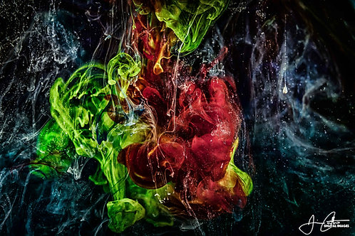 """Bursting of the Apple"" Photographic Print - 8x12"