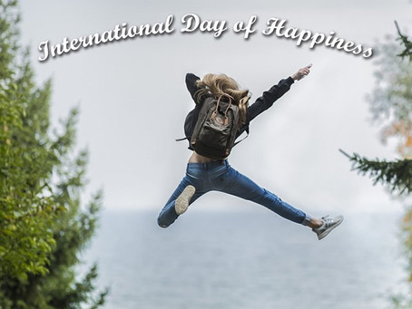 How did you celebrate international day of happiness??