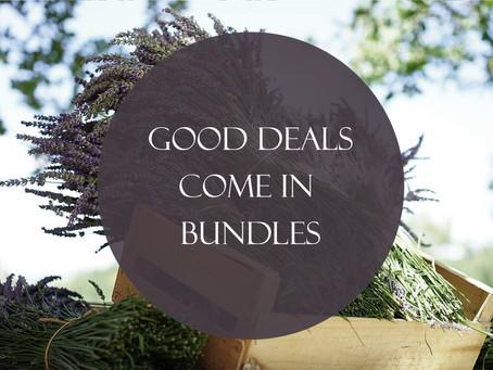 Good Deals Come In Bundles