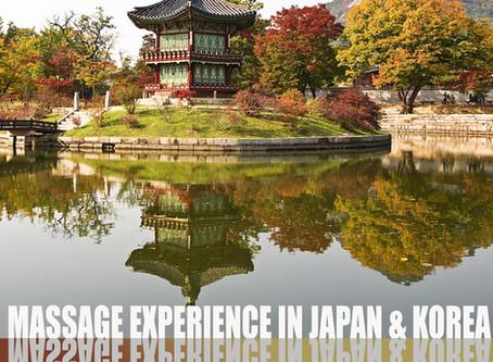 Massage Experience in  Japan & Korea