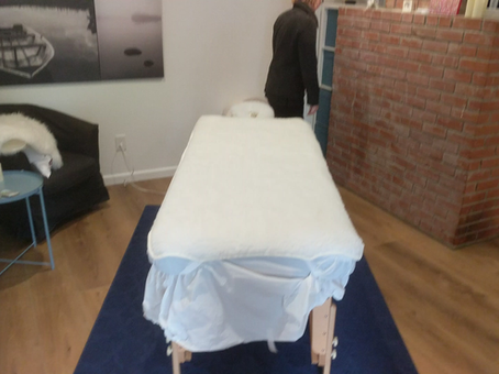 What is on your massage table