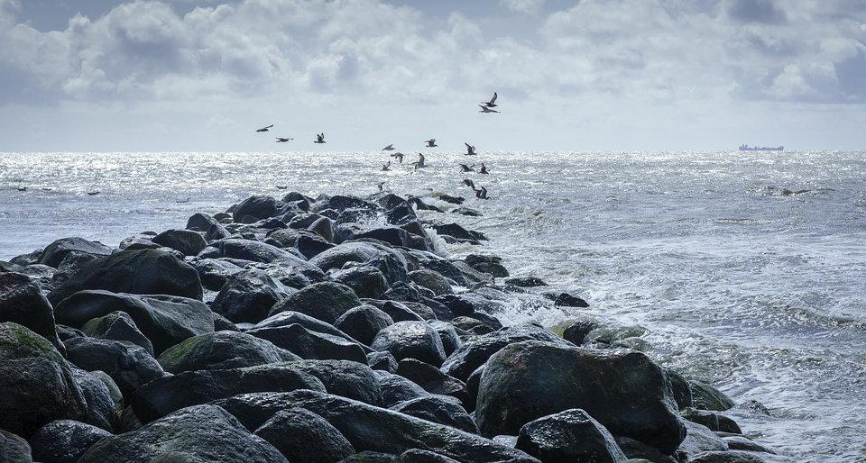 kattegat the beautiful rough sea of denmark