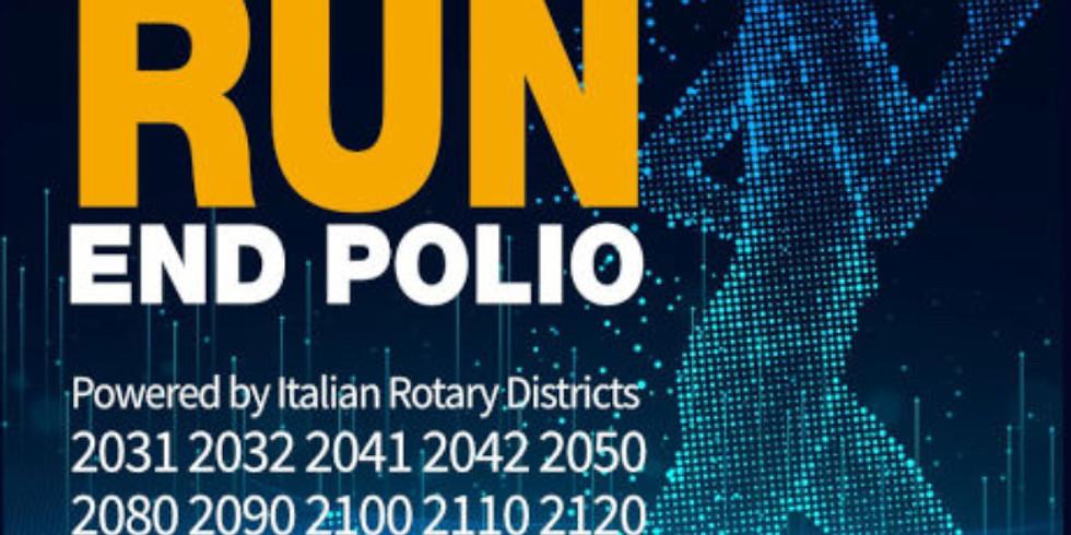 Rotarian Virtual Run - End Polio