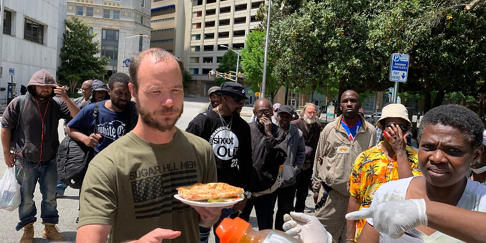 Feeding The Homeless Monthly Call For Details