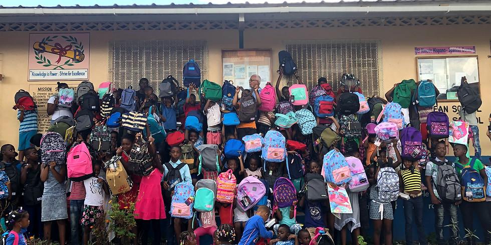 Heavens Gateway Ministries Back To School Drive