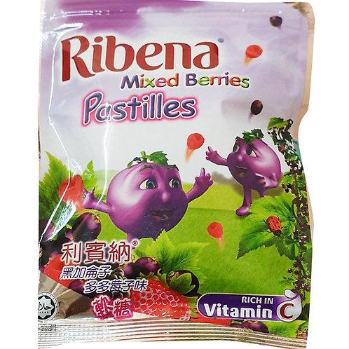 Ribena Blackcurrant Pastilles - Mixed Berries 40g