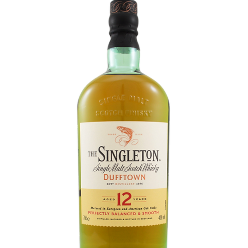 Singleton 12 year old whisky of dufftown