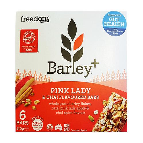 Freedom Foods Barley+ Bars - Pink Lady & Chai 210g (6 per pack)