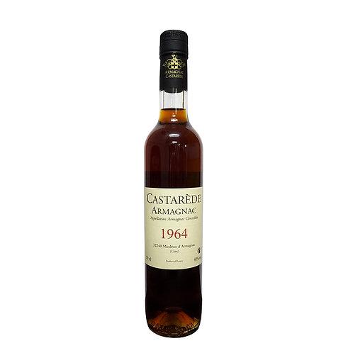 Armagnac Castarede Brandy 1964