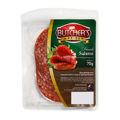 Butcher's Pride Salami - Danish 70g