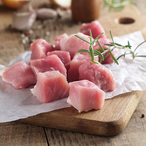 Indonesia Bulan Fresh Pork - Cubes, 250g