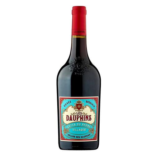 Les Dauphins Cote du Rhone Red 750ml