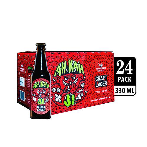 Archipelago Brewery Ah Kah Ji Craft Beer Bottle 330ml (Pack of 4) x 6