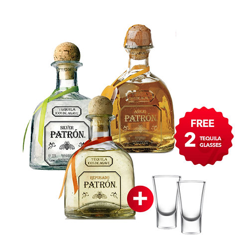 TEQUILA PARTY SET ( FREE 2 GLASS TEQUILA)